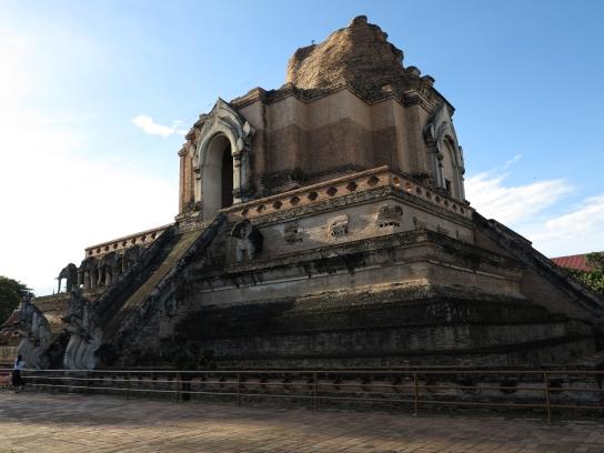Der Stupa von Wat Chedi Luang