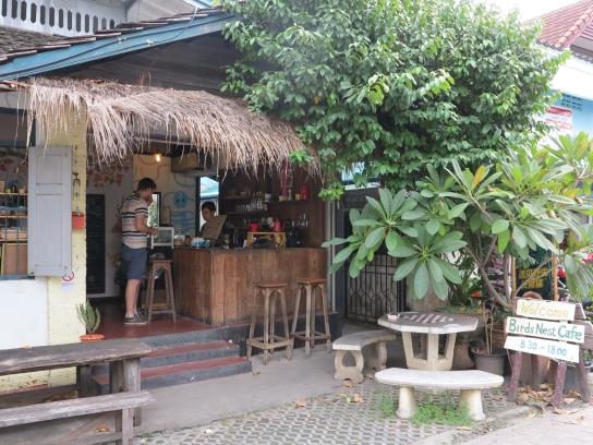 Bird's Nest Cafe - Sehr gemütliches Café mit sehr leckeren vegetarischen Wraps