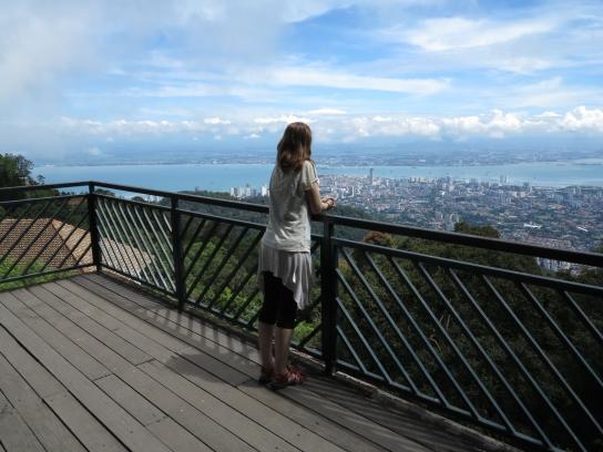 Aussicht vom Penang Hill