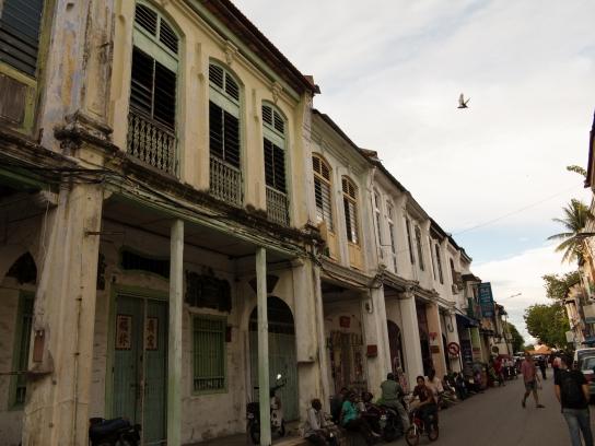 Die schönen alten Häuser im Kolonialstil