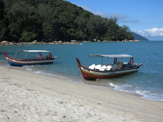 Ein kleiner Strandabschnitt auf Penang